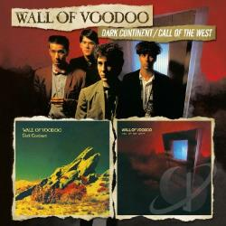Wall Of Voodoo - Dark Continent/Call Of The West CD Cover Art