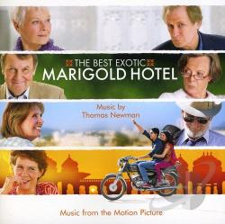 Tom Newman - Best Exotic Marigold Hotel CD Cover Art