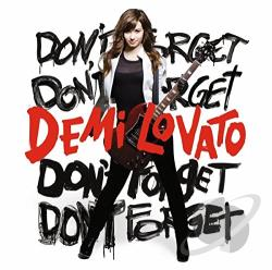 Lovato, Demi - Don't Forget CD Cover Art