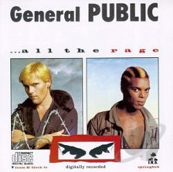 General Public - All the Rage CD Cover Art