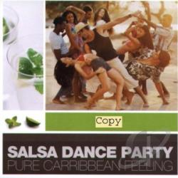 Salsa Dance Party CD Cover Art
