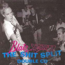 Blatz - Shit Split LP Cover Art