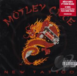 Motley Crue - New Tattoo CD Cover Art