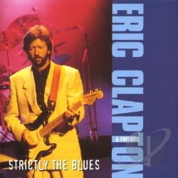 Clapton, Eric - Strictly the Blues CD Cover Art
