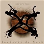 Extreme - Saudades de Rock CD Cover Art