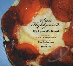 Hyldgaard, Susi - It's Love We Need CD Cover Art