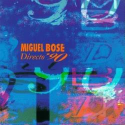 Bose, Miguel - Directo '90 CD Cover Art