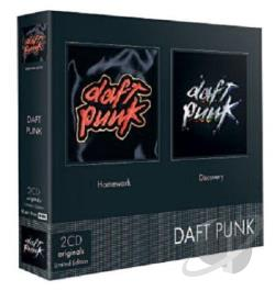 Daft Punk - Homework/Discovery CD Cover Art