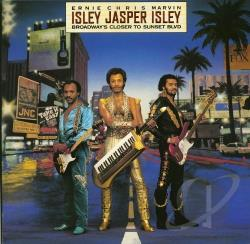 Isley Jasper Isley - Broadway's Closer to Sunset Blvd. CD Cover Art