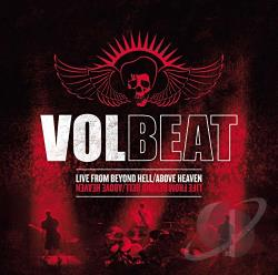 VolBeat - Live from Beyond Hell/Above Heaven CD Cover Art