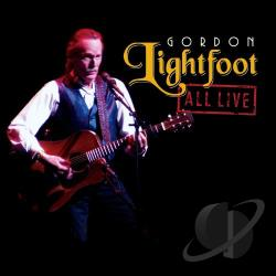 Lightfoot, Gordon - All Live CD Cover Art