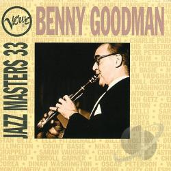 Goodman, Benny - Verve Jazz Masters 33 CD Cover Art