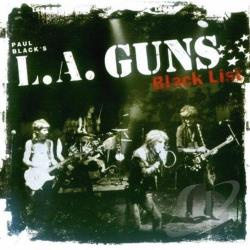 L.A. Guns - Black List CD Cover Art