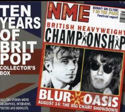 Blur / Oasis - 10 Years of Britpop: Collectors Box Unauthorized CD Cover Art