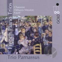 Chausson / Debussy / Mouton / Trio Parnassus - French Piano Trios CD Cover Art