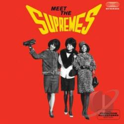 Supremes - Meet the Supremes CD Cover Art