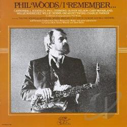 Woods, Phil - I Remember... CD Cover Art