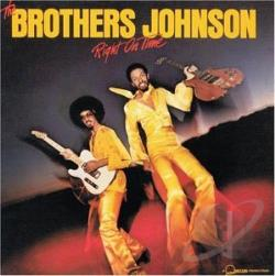 Brothers Johnson - Right on Time CD Cover Art