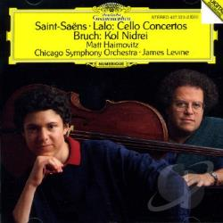 Bruch / Lalo / Levine, James / Saint-Saens - Saint-Saens, Lalo: Cello Concertos; Bruch: Kol Nidrei CD Cover Art