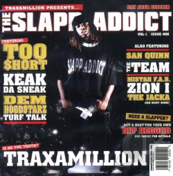 Traxamillion - Slapp Addict CD Cover Art