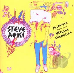 Aoki, Steve - Pillowface and His Airplane Chronicles CD Cover Art
