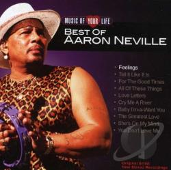 Neville, Aaron - Music of Your Life: Best of Aaron Neville CD Cover Art