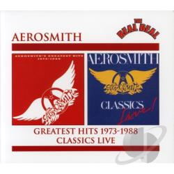 Aerosmith - Aerosmith's Greatest Hits 1973-1988 CD Cover Art
