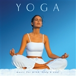 Allen, Ron / Various Artists - Yoga: Music for the Mind Body and Soul CD Cover Art