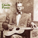 Patton, Charley - Best of Charley Patton CD Cover Art