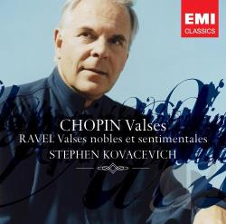Chopin / Kovacevich / Ravel - Chopin: Valses; Ravel: Valses nobles et sentimentales CD Cover Art