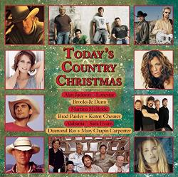 Today's Country Christmas CD Cover Art