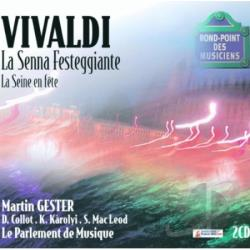 Le Parlement De Musique - Vivaldi-La Seine En Fete CD Cover Art
