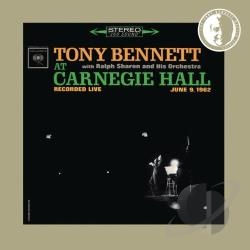 Bennett, Tony - Tony Bennett With Ralph Sharon And His Orchestra At Carnegie Hall: Recorded Live June 9, 1962. CD Cover Art