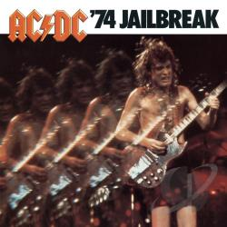 AC/DC - '74 Jailbreak CD Cover Art