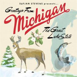 Stevens, Sufjan - Greetings from Michigan: The Great Lake State CD Cover Art