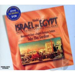 Ebs / Gardiner / Handel / Monteverdi Choir - H�ndel: Israel in Egypt; Zadok the Priest; The King Shall Rejoice CD Cover Art