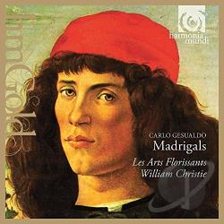 Christie / Gesualdo / Les Arts Florissants - Carlo Gesualdo: Madrigals CD Cover Art