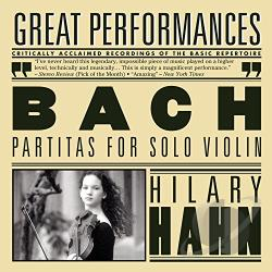 Bach / Hahn, Hilary - Bach: Partitas for Solo Violin CD Cover Art