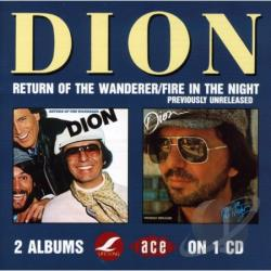 Dion - Return of the Wanderer/Fire in the Night CD Cover Art