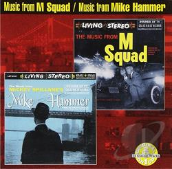 Music from M Squad/The Music from Mickey Spillane's Hammer CD Cover Art