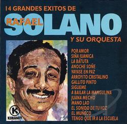 Solano, Rafael - 14 Grandes Exitos CD Cover Art