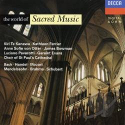 Sacred Music - World Of / Ferrier / Etc D CD Cover Art