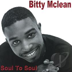 McLean, Bitty - Soul to Soul CD Cover Art