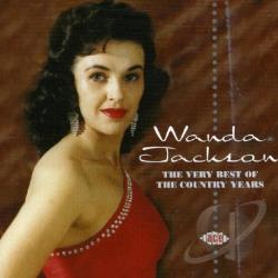 Jackson, Wanda - Very Best of the Country Years CD Cover Art
