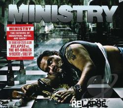 Ministry - Relapse CD Cover Art