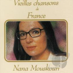 Mouskouri, Nana - Vielles Chansons de France CD Cover Art