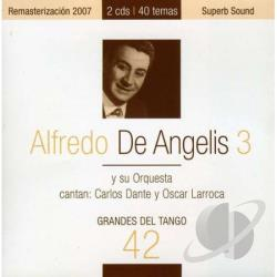 De Angelis, Alfredo - Grandes del Tango, Vol. 42 CD Cover Art