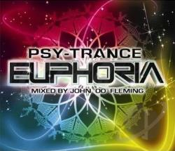 John 00 Fleming - Psy-Trance Euphoria CD Cover Art