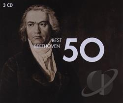 Best Beethoven 50 CD Cover Art
