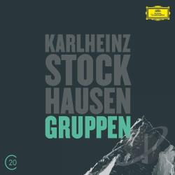 Abbado / Berliner Philharmoniker / Stockhausen - Stockhausen: Gruppen; Kurtag: Grabstein fur Stephan; Stele CD Cover Art
